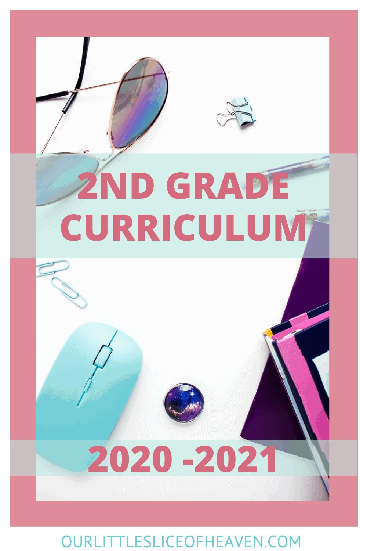 2nd grade curriculum